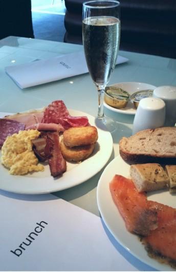 brunch restaurant lafayette hyatt regency paris etoile