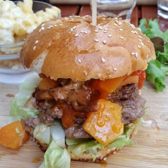 fatman burger captain b restaurant fastandfood entier