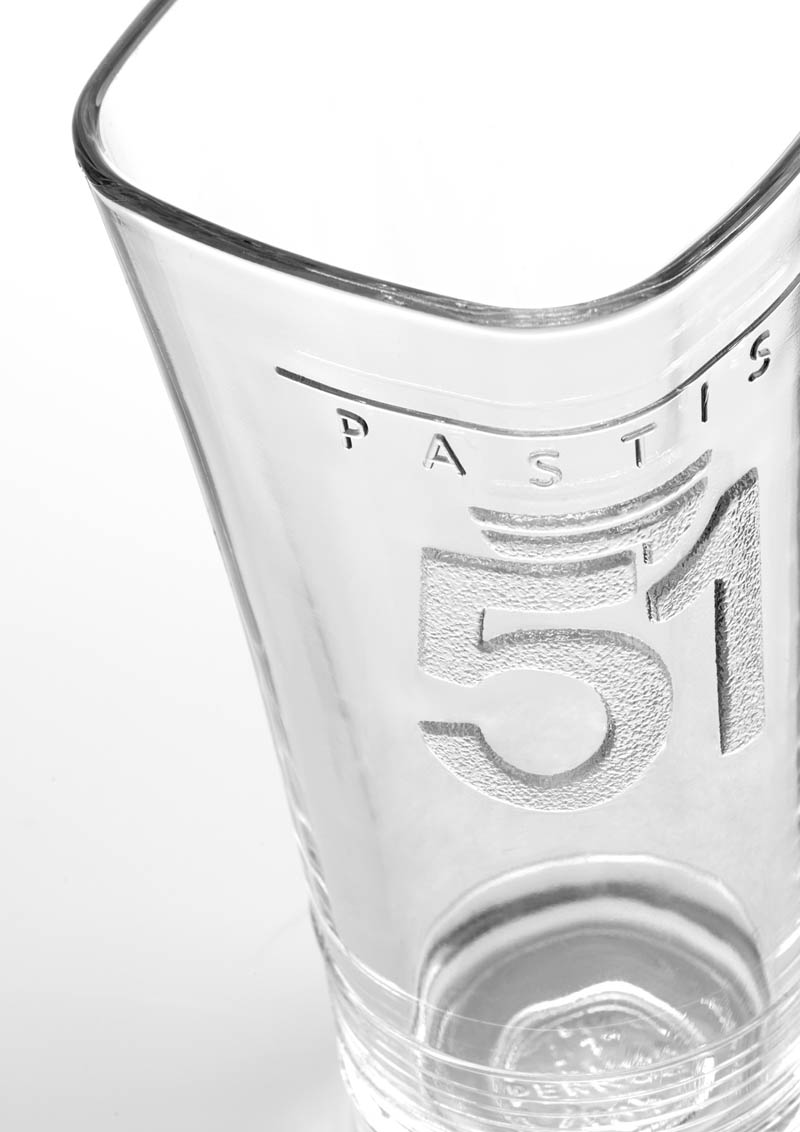 un verre pastis 51 sign sismo design edouard borie. Black Bedroom Furniture Sets. Home Design Ideas